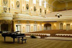Пресс-конференция «Реставрация Большого зала»