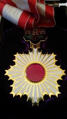Профессор С. Л. Доренский был награжден в Японском посольстве Орденом Восходящего солнца