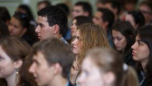 Торжественное собрание первого курса, посвященное Дню знаний