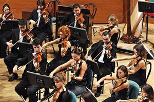 Пресс-конференция, посвящённая гастролям Симфонического оркестра им. Дж. Верди