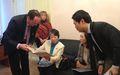 Встреча с делегацией посольства Японии