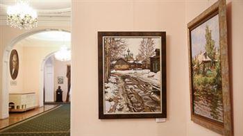 Выставка преподавателей Академии имени Строганова