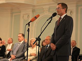 Николай Левичев выступил на торжественном собрании первокурсников Московской государственной консерватории
