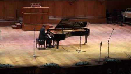 Иван Гостев. Соната для фортепиано. II, III части.