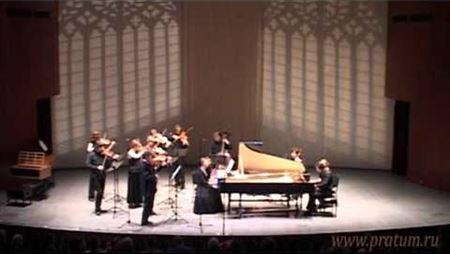 И. С. Бах. Концерт для двух клавесинов и камерного оркестра, BWV 1061