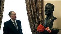 Торжественная церемония передачи в дар Консерватории бюста Якова Флиера