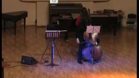 Theremin and contrabass music - Parallels by Dilyara Gabitova