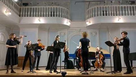 Жан-Мари Леклер. Концерт ля минор для скрипки и струнного оркестра, соч. 7 № 5