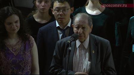 Сергей Слонимский. О Студии новой музыки и «Антифонах» (1968)