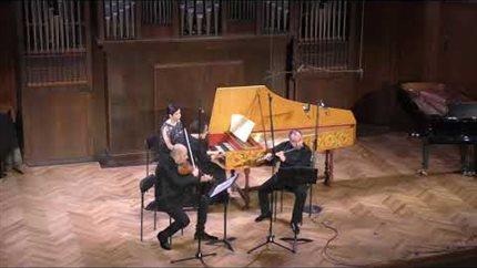 Б. Мартину. «Прогулки» для флейты, скрипки и клавесина