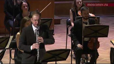 Моисей Вайнберг. Камерная симфония № 4 для кларнета и струнного оркестра: IV. Andantino — Adagissimo