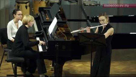 Иван Соколов Соната для флейты и фортепиано. I часть