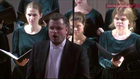 Сергей Слонимский. «Видя разбойник» для хора a capella (2008)