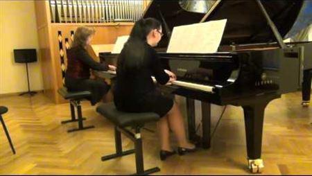 Концерт к 55-летию школы педпрактики