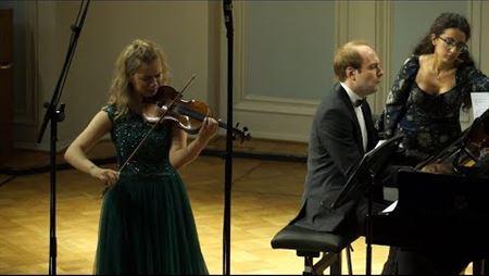 Александр Чайковский. Соната № 3 для скрипки и фортепиано, сoч. 98. Фрагмент
