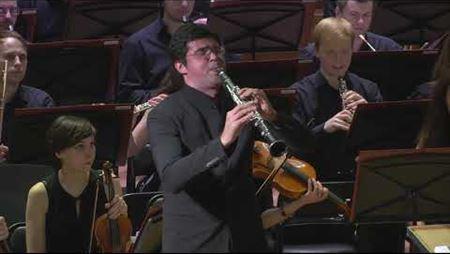 Луиджи Басси. Концертная Фантазия на темы оперы Верди «Риголетто» для кларнета с оркестром