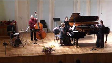 К. Боллинг. Сюита для флейты и фортепиано (версия для джаз-трио и флейты). Части V, I.