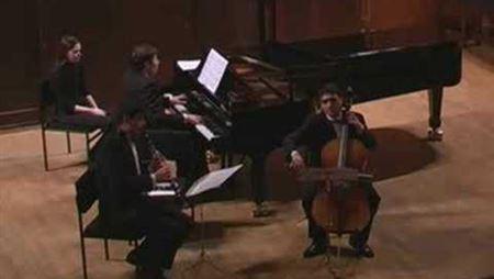 В. Урюпин, Т. Мурадян, С. Христенко. Брамс. Трио для кларнета, виолончели и фортепиано: часть 1