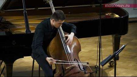 Виктор Зиновьев (класс проф. Коблякова) «Serdega-capriccioso» для контрабаса соло