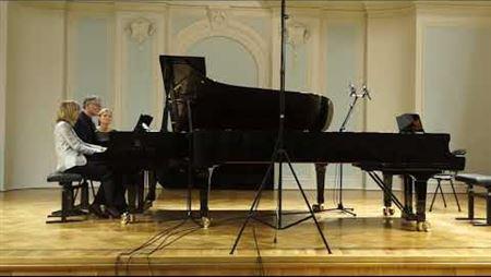 К. Дебюсси. Маленькая сюита для фортепиано в 4 руки