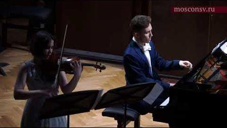Валентин Малинин. «Вспоминая в сумерках дуновение...» для скрипки и фортепиано. Премьера