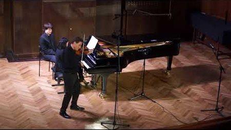 М. Равель. Концертная рапсодия «Цыганка» для скрипки и фортепиано (1924)