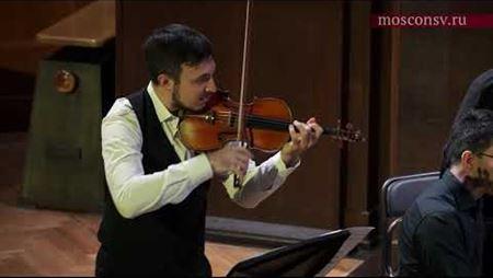 Людвиг ван Бетховен. Соната № 1 ре мажор для скрипки и фортепиано, соч. 12: III. Rondo. Allegro