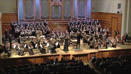 Александр Клевицкий. «Лети», кантата для сопрано, органа, хора и оркестра