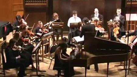 Й. Гайдн. Концерт для клавира с оркестром ре мажор: часть 3. Солистка Александра Коренева