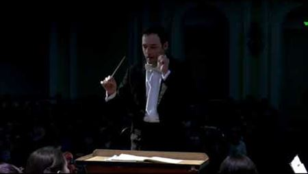 The Youth Symphony Orchestra of Russia and Belarus. Conductor Andrey Ivanov