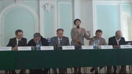 Г. Маланичева на слушаниях Общественной Палаты