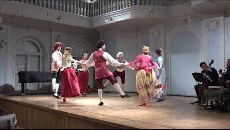 Мастерская исторического танца «Антрé». «Ля бьонни», контрданс (Париж, 1761)