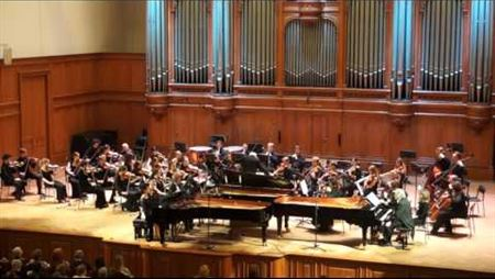 В. А. Моцарт. Концерт №7 для трех фортепиано с оркестром фа мажор, К 242