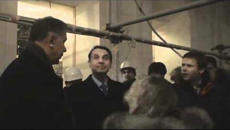 Посещение А. А. Авдеевым Большого зала консерватории