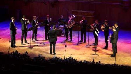 Выступление Брасс-ансамбля на фестивале Grata Novitas