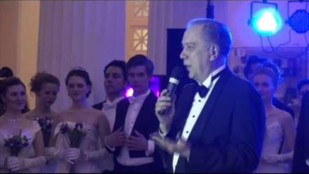 The Opening of the Moscow Conservatory's Spring Ball