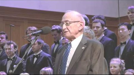 M. Perelman Speaks at the Charity Evening