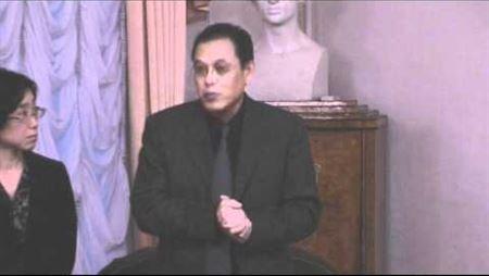 Mr. Toru Saruya (<i>Yamaha</i>) Speaks at the Moscow Conservatory