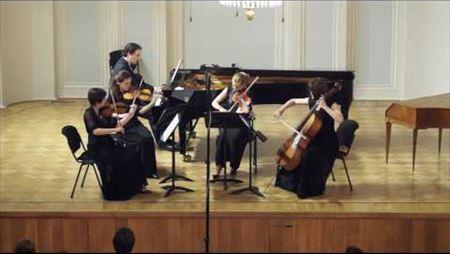Д. Шостакович. Фортепианный квинтет соль минор, соч. 57 (1940). Части IV,V