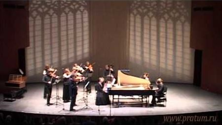 J. S. Bach. Concerto for two harpsichords and chamber orchestra, BWV 1061