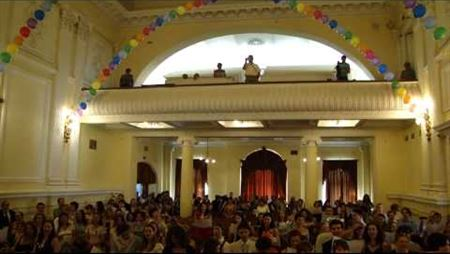The Moscow Conservatory's 141<sup>st</sup> Graduation Party. <i>Viva Academia</i>