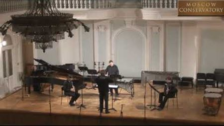 Ada Gentile. 'Staccato dal Mondo' for clarinet, vibraphone, accordion and piano