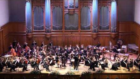 Екатерина Хмелевская. «Звоны» для симфонического оркестра