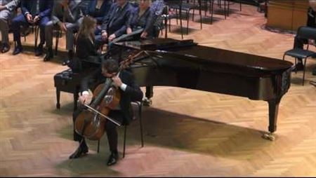 S. Rachmaninov. Sonata for cello and piano. Part III, Andante