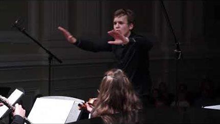 О. Респиги. Концерт для гобоя, трубы, скрипки, контрабаса, фортепиано и струнных. Фрагмент