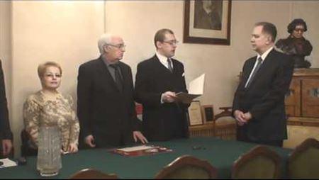 Благодарность А. Соколову от Российского Императорского Дома