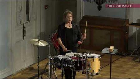 David Manchini. <i>The Latin Journey</i>. Perf. by Eleonora Kostina (multi-percussion)