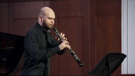 Telemann Fantasia No.1 in A major (oboe Miroslavsky Emil)