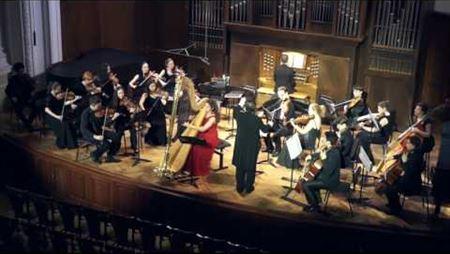 В. Цыбин. Концерт для арфы, струнного оркестра и органа (реконструкция В. Кикты)