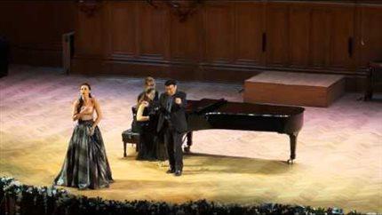 Зураб Соткилава на сцене Большого зала Московской консерватории